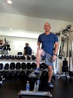 Step Across and 3  more Exercises for Better, Shapelier Legs from Harley Pasternak