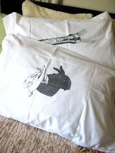 screen print pillowcase