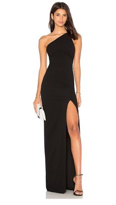 Shop for SOLACE London Petch Dress in Black at REVOLVE. Free day shipping and returns, 30 day price match guarantee. Black Tie Wedding Guest Dress, Black Tie Wedding Guests, Black Wedding Dresses, Long Black Dresses, Gala Dresses, Event Dresses, Formal Dresses, Sexy Maxi Dress, Dress Up