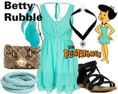 """Betty Rubble - The Flintstones"" by lilyelizajane on Polyvore"