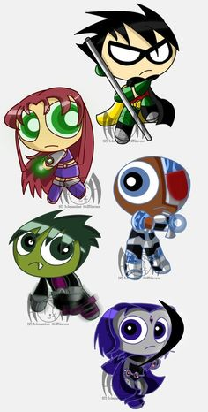 Teen Titans go! :puff chart: by CottonKittie Beast Boy, Teen Titans Go, Great Tv Shows, Powerpuff Girls, Cartoon Network, Sonic The Hedgehog, Disney Characters, Fictional Characters, Geek Stuff