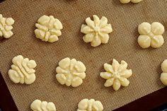 Cream Cheese Spritz Cookies Recipe (The Way The Cookies Crumbles)