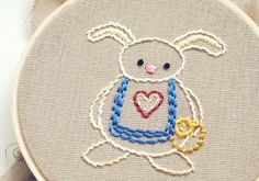 Curiouser  AliceInspired Printable Embroidery Pattern by wildolive, $4.00