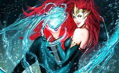 "dcvertigodaily: "" Mera by, next Aquaman's artist, Shiniebzial Sejic "" DC Comics"
