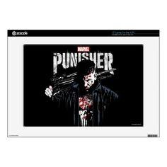 "The Punisher | Jon Quesada Cover Art Decal For 15"" Laptop   marvel art, captain marvel, colossus marvel #Marvelfan #marvelnerd #marvelrp, 4th of july party Thanos Marvel, Marvel Fan, Captain Marvel, Punisher, Cover Art, Your Design, Decals, Nerd, Prints"