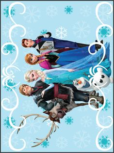 Free Frozen Wall Printable.