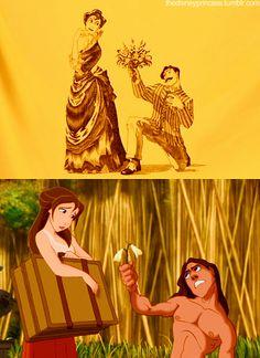 10 Best Tarzan Quotes Images Tarzan Quotes Disney Songs Disney Love