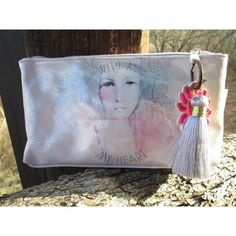 Newly released design! Small accessory pouches help you organize your life on the go! Perfect for cosmetics, art supplies, tech gadgets, and all the loose ends that need a home. Pouches are lined with colorful patterns and zip closed with a stamped metal