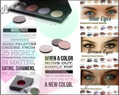 Moodstruck Pressed Shadows www.AgelessBeYOUty.com #younique #makeup #eyes #eyeshadow