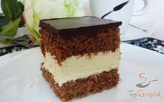 All Time Easy Cake : Milky Way cake, Milky Way Cake, Whole Milk Powder, Hungarian Recipes, Hungarian Food, Salty Snacks, Vanilla Cake, Nutella, Cheesecake, Food And Drink