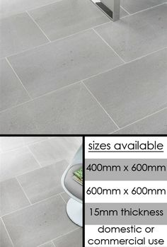 Contemporary Grey Limestone Flooring Tiles livinghouse.co.uk.  If we run out of the wood flooring... For the upstairs bath.