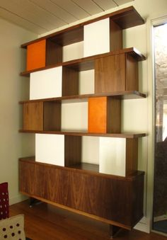 Thomas Wold - eichler home bookcase