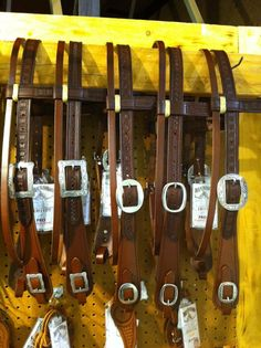 New Retro headstalls on display at the Winnemucca Ranch Hand Rodeo this week....Lots of excitement here..... Loads of new designs.