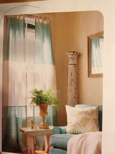 lengthen curtains | Extend the length of too-short curtains by adding bands of fabric to ...
