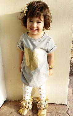 Gold Moda Instagram, Little Children, Monet, Cool Kids, Kids Fashion, Gold, Inspiration, Style, Biblical Inspiration