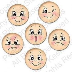 New Doll Face Drawing Peachy Keen Stamps Ideas Clay Pot Crafts, Diy And Crafts, Arts And Crafts, Paper Crafts, Doll Eyes, Doll Face, Peg Doll, Peachy Keen Stamps, Cartoon Eyes