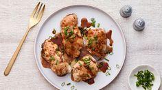 Teriyaki Stuffed Chicken Breasts.