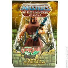 matty | Classics | Preternia Disguise He-Man™ Figure