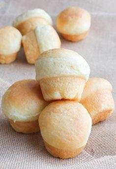 brioche bread rolls recipe from @FashionEdible