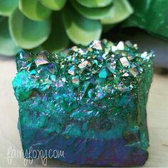Aura Quartz Crystal