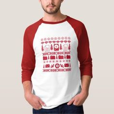 """Computer Icons """"Ugly Christmas Sweater"""" design - r T-Shirt"""