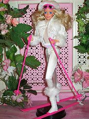 Winter Fun Barbie 1990