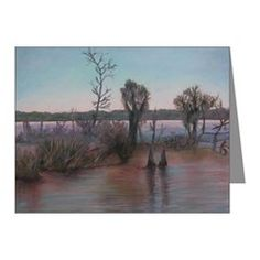ON THE BAYOU Note Cards (Pk of 10)