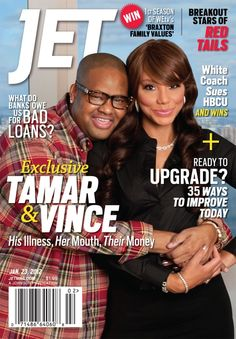 Tamar Braxton and her husband Vince Herbert #LoveAndWarSept3