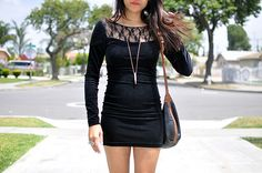 I want this black dress!!! now!