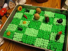 Plants vs Zombie Cake Items | Plants Versus Zombies Birthday Cake by ~Leap207 on deviantART