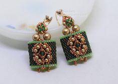 PDF Tutorial Careena Carrier Beads Earrings Pendant Beading