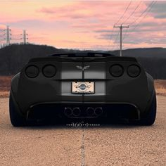 """Widebody C6 Corvette"""
