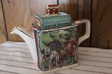 James Sadler Teapot The Wind in the Willows Classics Stories China Teapot, China Tea Sets, Tea Cozy, Kettles, Chocolate Pots, Vintage China, Teacups, Cup And Saucer, Tea Time