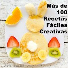 100 recetas fáciles creativas