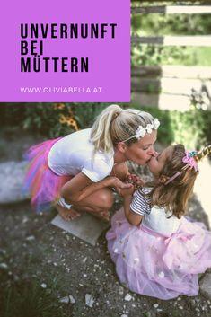 Warum ich eine unvernünftige Mama bin und es gut finde. #mama #erziehung #erziehungstipps #mamaundtochter Girls Dresses, Flower Girl Dresses, Tulle, Wedding Dresses, Bad Mom, Kids And Parenting, Nursery Songs, Daughter, Pregnancy