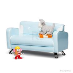Buy El Nino Kids Sofa Baby Blue Online  Kids Furniture