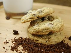 The Kitchen is My Playground: Coffee Chocolate Chip Cookies
