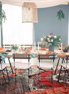 Hampton Event Hire / French Bistro Chairs / Long Wooden Dining Tables / Gold Cutlery / Servicing Brisbane / Gold Coast / Byron Bay {Florals by Rose Apple Flowers, Lighting by Elyssium Lighting, Image by Byron Loves Fawn}