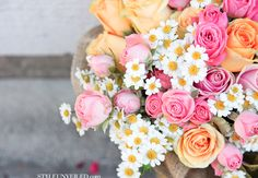 Flowers by French Buckets. GORGEOUS.