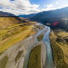 It's crazy to think we drive past rivers like this all the time in New Zealand never quite knowing the beauty they behold when viewed from a different angle!