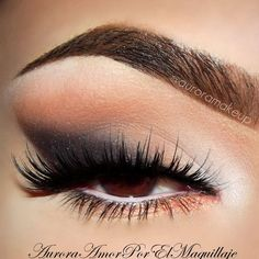 Neutral Look With Awesome Lashes
