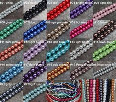 free+shipping+30pcs+round+glass+pearl+spacer+by+Diycraftstore,+$2.03