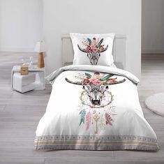 Moderní povlečení pro mladé s originálním motivem Bed Sheets, Comforters, Nova, Blanket, Furniture, Sioux, Dimensions, Centre, Home Decor