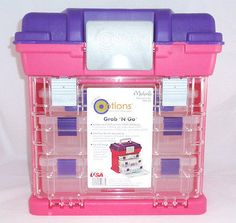 Adjustable Organizer Travel Storage Case - Fits Rainbow Loom, Bands, & Weave Kit