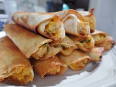 Dimples & Delights: Cream Cheese Chicken Taquitos