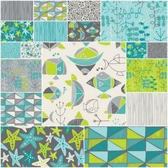 Sea Life by Heather Rosas for Camelot Cottons