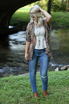 Breezy and Brazen - boho outfit