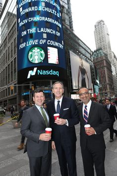 Congratulations to @starbucks   CEO, Howard Schultz & Rajiv Chandrasekaran on the release of their new book #ForLoveofCountry! $SBUX  'For Love of Country' Spotlights #Veterans Contributions and Potential.   Learn more here: http://news.starbucks.com/news/for-love-of-country-spotlights-veterans-contributions-and-potential