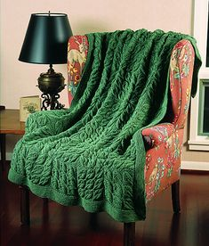 Ravelry: Falling Leaves Afghan #860 pattern by Lion Brand Yarn