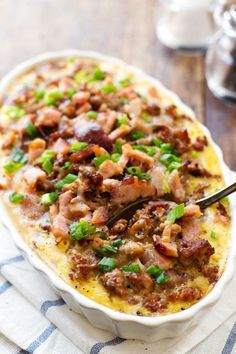 9 Breakfast Casseroles You'll Want to Make This Winter via @PureWow